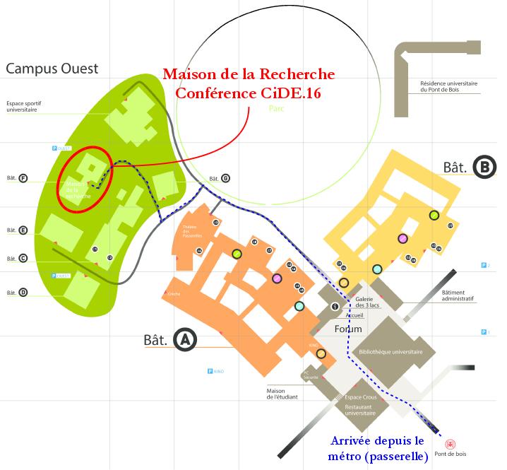 Plan - Maison de la Recherche